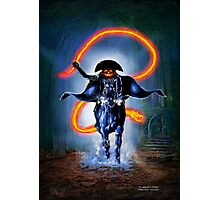 Halloween Rider Photographic Print