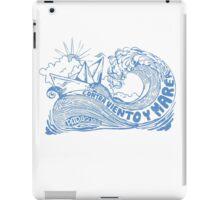 Contra viento y marea iPad Case/Skin