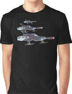 U F O Interceptors Nightside Graphic T-Shirt