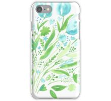 Two Tone Tulip Print iPhone Case/Skin