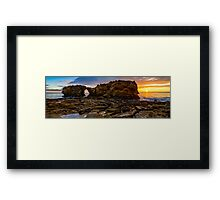 Pacific Dusk Framed Print