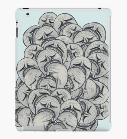 ZOMBIES PROBLEM iPad Case/Skin
