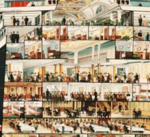 Vintage Cunard Line Ocean Liner Travel Sticker
