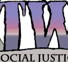 Social Justice Warrior Princess Sticker
