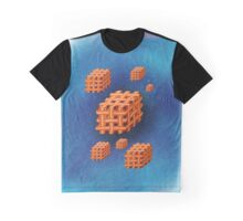 3D Bacon Graphic T-Shirt