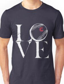 Love cubs baseball team Unisex T-Shirt