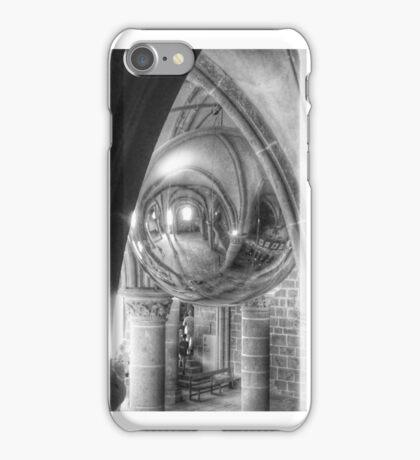 Mont St Michel Globe iPhone Case/Skin