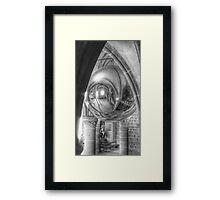 Mont St Michel Globe Framed Print