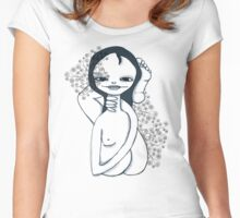 Yoga girl Women's Fitted Scoop T-Shirt
