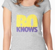 Bo Knows Women's Fitted Scoop T-Shirt