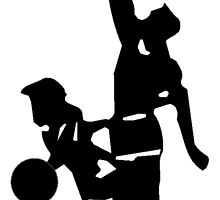 Basketball Players by kwg2200