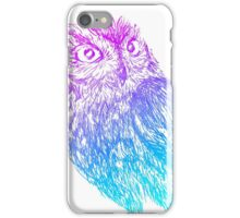 Western Screech Owl iPhone Case/Skin