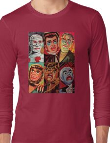 Lincoln International Monsters Long Sleeve T-Shirt