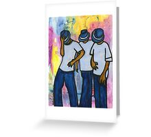 Let's STEP, My Brothas Greeting Card