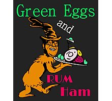 Green Eggs and Rum Ham Photographic Print