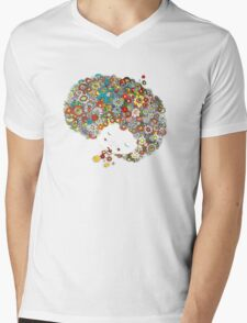 Peace In Confusion Mens V-Neck T-Shirt