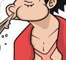 ONE PIECE: Midnight Snack Luffy Sticker