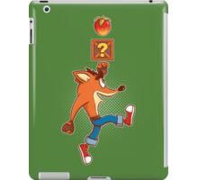 Super Crash Box iPad Case/Skin
