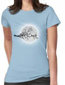 Luna Love Birds Womens Fitted T-Shirt