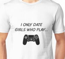 Date PlayStation Girls Unisex T-Shirt