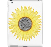 Sunflower Mandala iPad Case/Skin
