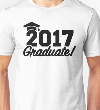 Graduate Class of 2017 Unisex T-Shirt