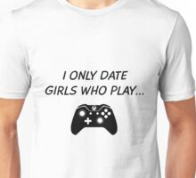 Date Xbox Girls Unisex T-Shirt