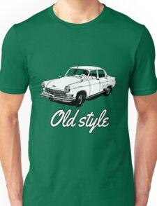 old car retro vintage old timer old school Unisex T-Shirt