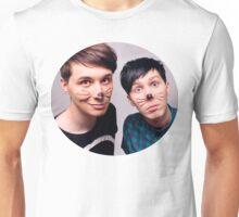 Dan and Phil circle design Unisex T-Shirt