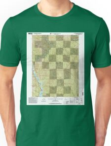 USGS TOPO Map California CA Bollibokka Mountain 100556 1998 24000 geo Unisex T-Shirt