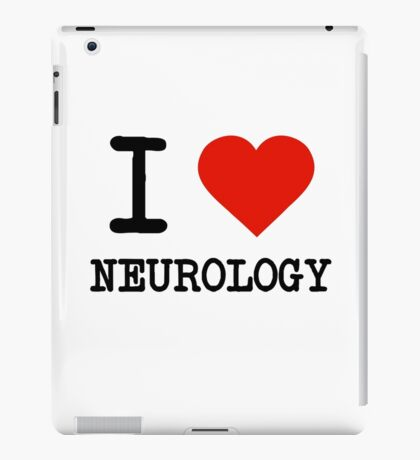 I Love Neurology iPad Case/Skin