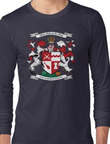 Willy Nilly Coat of Arms Long Sleeve T-Shirt