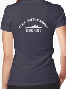 The Last Ship Women's Fitted V-Neck T-Shirt