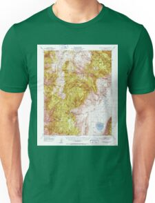 USGS TOPO Map California CA Blanco Mountain 296840 1951 62500 geo Unisex T-Shirt
