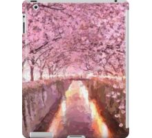 Cherry blossom Impressionist summer landscape iPad Case/Skin