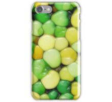 Lemon Lime Abstract iPhone Case/Skin