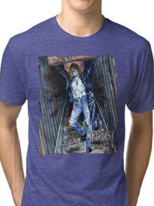 Masquerade Art: Red List - III: Dylan Bruce Tri-blend T-Shirt
