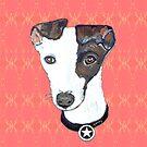 Greyhound Portrait by gretzky