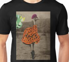 Collage series 1 - The Fashionable Ostrich Unisex T-Shirt