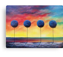 Blue Rapture Canvas Print