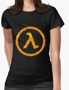 Half Life Lambda logo Womens Fitted T-Shirt
