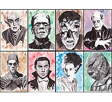 Classic Monster Collection Photographic Print