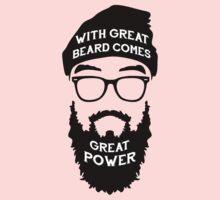 Beard Power! One Piece - Short Sleeve
