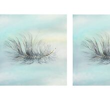 'Pukeko Feather' x2 by Marie-Claire Colyer