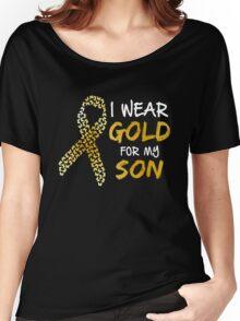 Childhood Cancer Awareness Women's Relaxed Fit T-Shirt