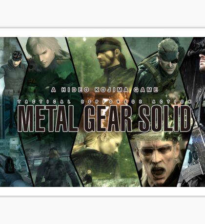 A Hideo Kojima Game - Metal Gear Sticker