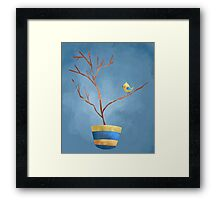 Bird and Tree Framed Print