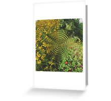 Flower Fields Gone Mad Greeting Card