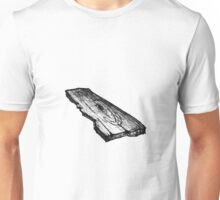 Plank of wood drawing Unisex T-Shirt
