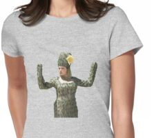 Rebecca Bunch as Cactus  Womens Fitted T-Shirt